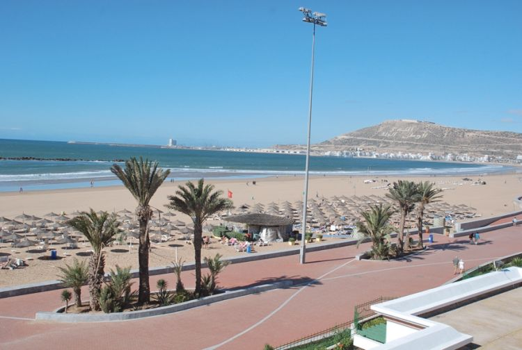 Playas de Marruecos, Agadir Beach