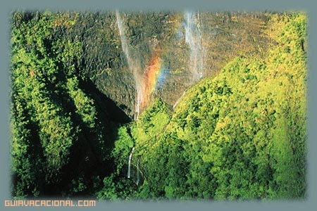 Cataratas en Kauai, Hawaii